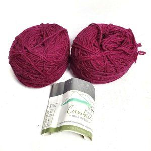 The Fibre Co Yarn 2 Skeins Wool Mohair Super Fine